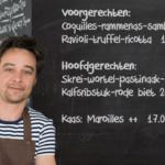 Non Solo Tè, marktrestaurant met de kleinste menukaart.